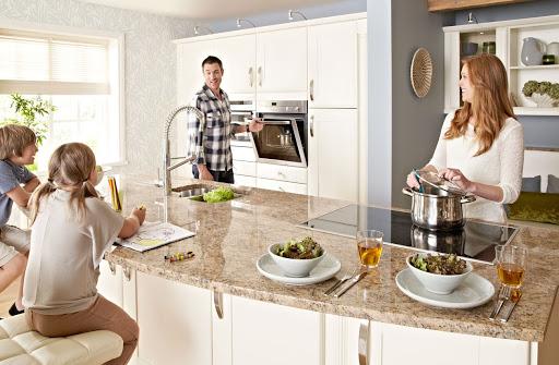 Семья на кухни