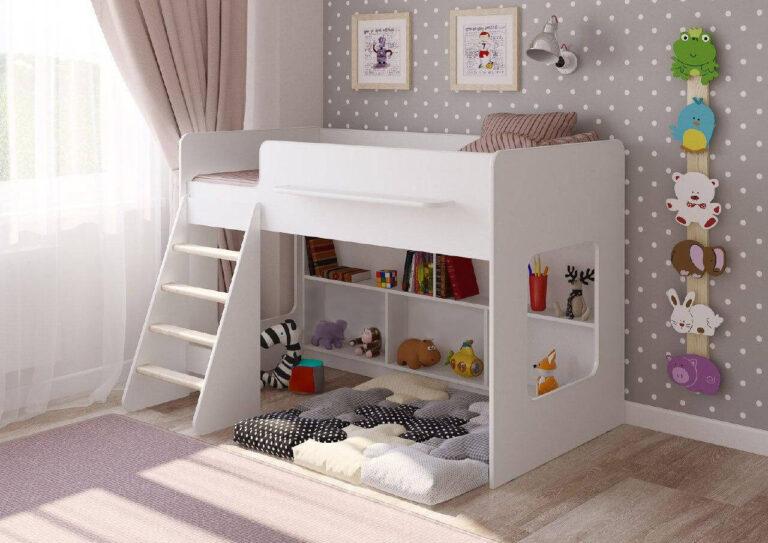 Детская кровать с тумбочками